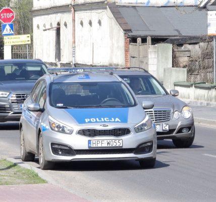 policja zator ozorków