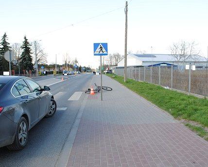 śmierć rowerzystki