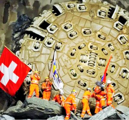 najdłuższy tunel