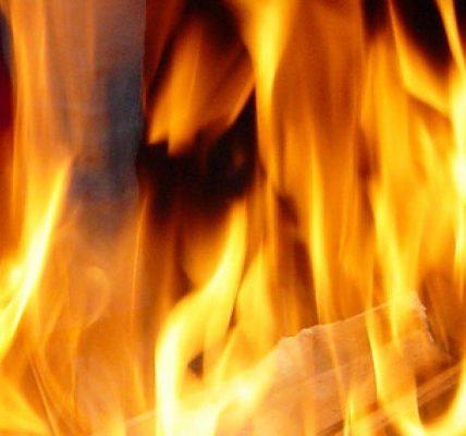 pożar