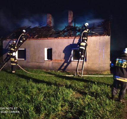 orzeszków pożar