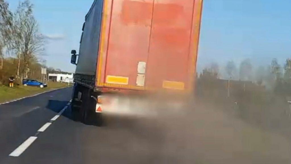 pijany z ciężarówki