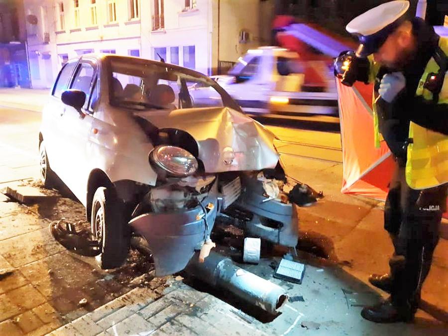 zmarł kierowca