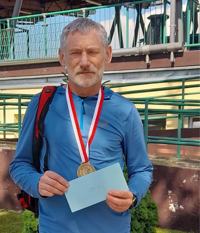 62-letni sportowiec