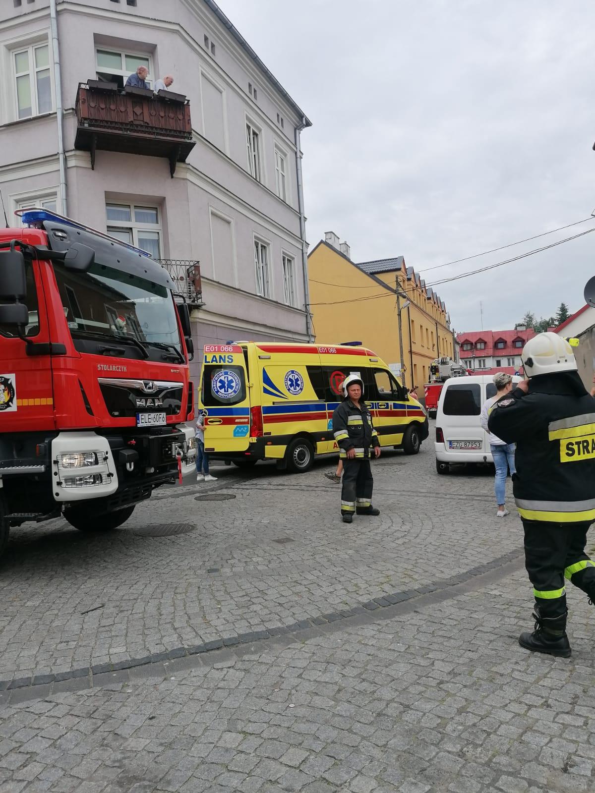 pożar na poznańskiej
