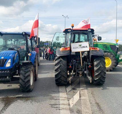 agrounia protest