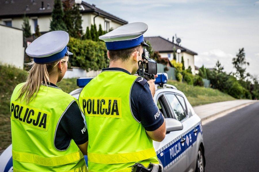 policja suszą