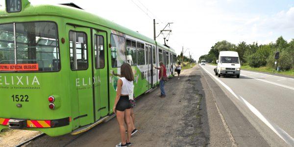 tramwaj linia 46 ozorków