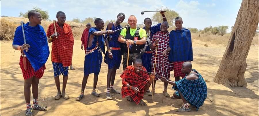 wśród masajów