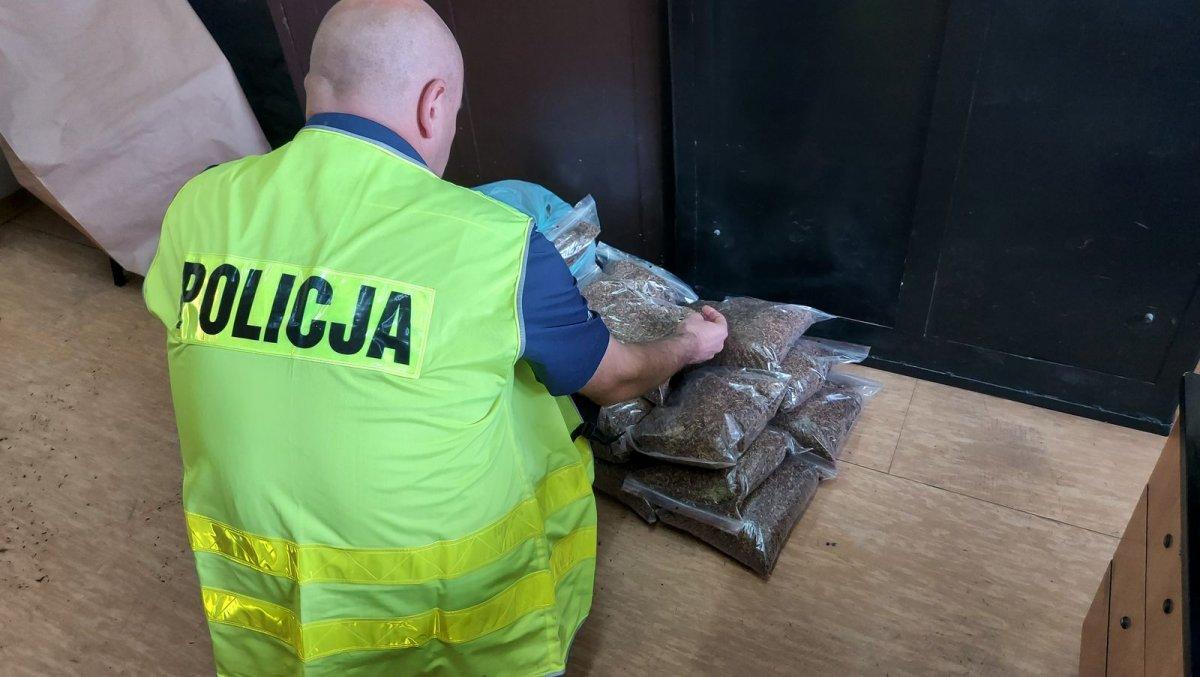 nielegalny tytoń